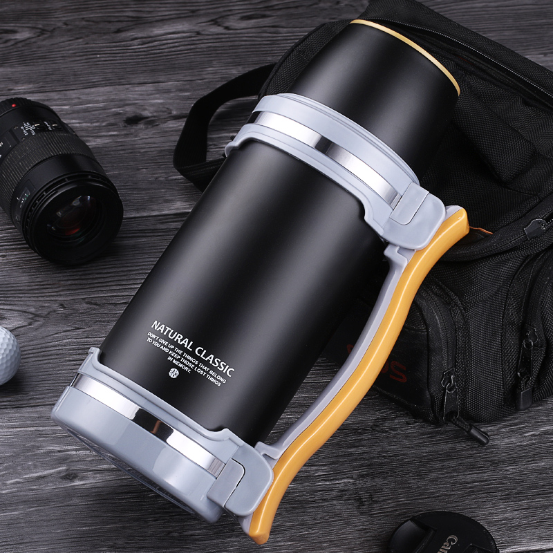 2800ml Stainless Steel Thermos Bottle Water Kettle Large Capacity Pot Insulation Thermal Pot Vacuum Flasks Teapot Travel Kettle