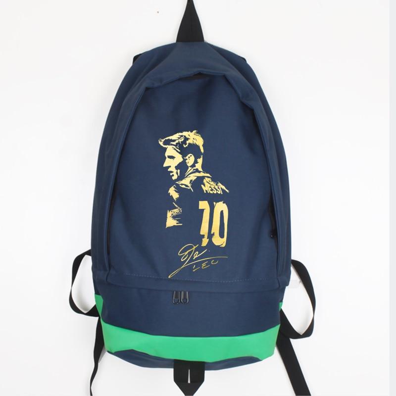 ახალი ჩამოსვლა Messi Canvas Backpack - ზურგჩანთა - ფოტო 6