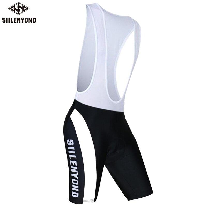 Siilenyond летние мужские шорты с нагрудником для велоспорта Pro Team MTB Bib Shorts De Ciclismo Hombres Paded Pillow Bibs короткая велосипедная одежда