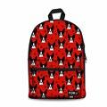 Индивидуальный школьный рюкзак для детей  рюкзак с принтом Бостонского терьера  школьный ранец  Детская сумка для девочек-подростков  студе...