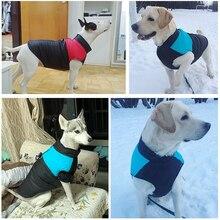 New Pet Jacket Large Dogs Cozy Coat Clothes Cotton Warm Winter Small Medium Labrador Outdoor Walk S-5XL