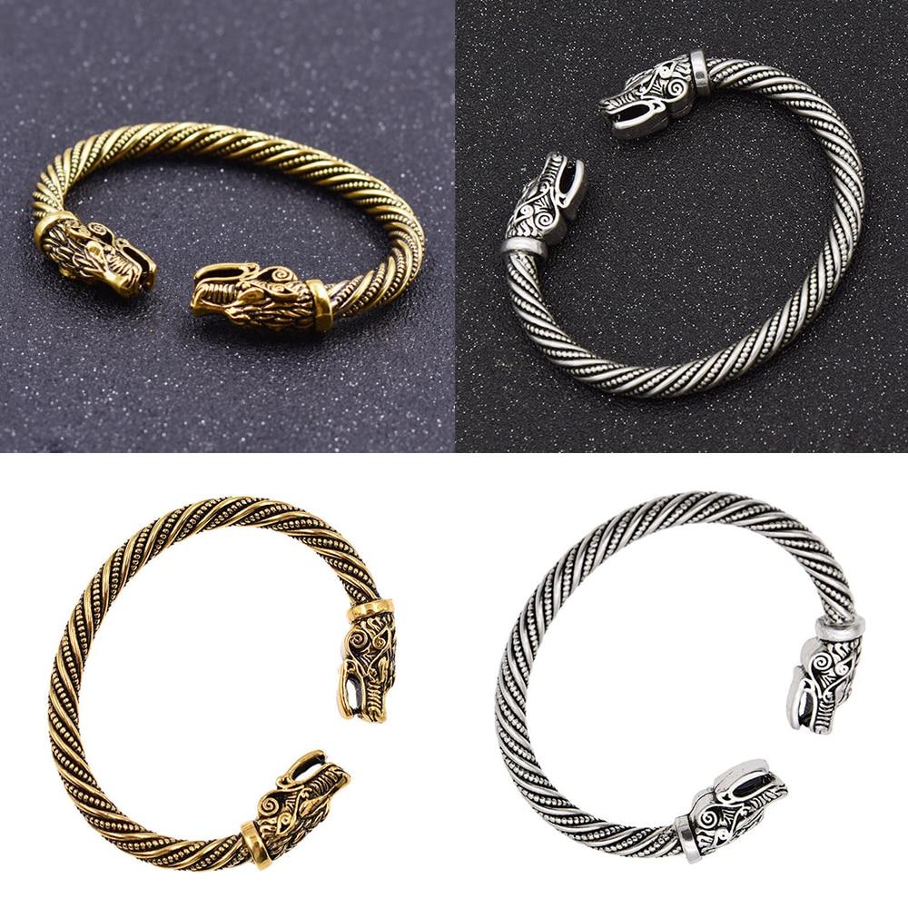 Shop For Cheap Pulsera Vikinga Dragon Cuero Tibetano Moda Unisex Hombre Y Mujer Joyeria Jewelry & Watches