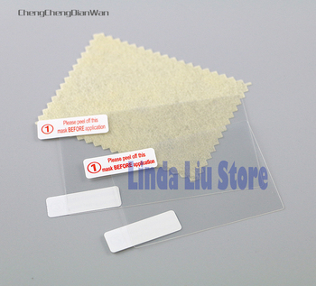 10sets 20sets top+botttom LCD Screen Protector film For 3DS Film Screen