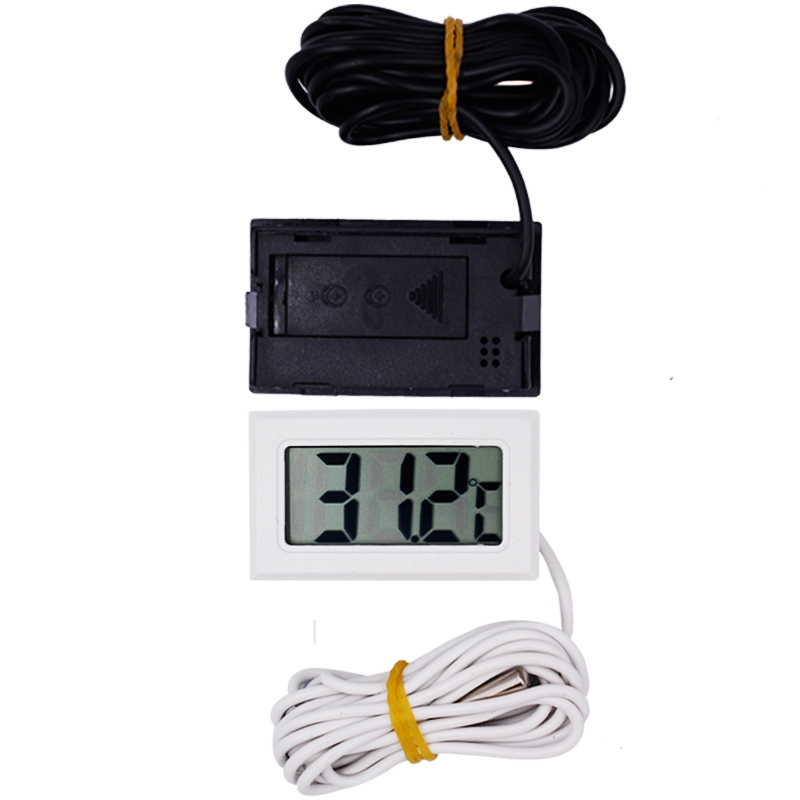 new arrive LCD Display Thermometer meter Probe Temperature tester 2m For Aquarium Freezer 15%off outdoor portable water temperature measurement lcd digital display thermometer waterproof probe for aquarium freezer