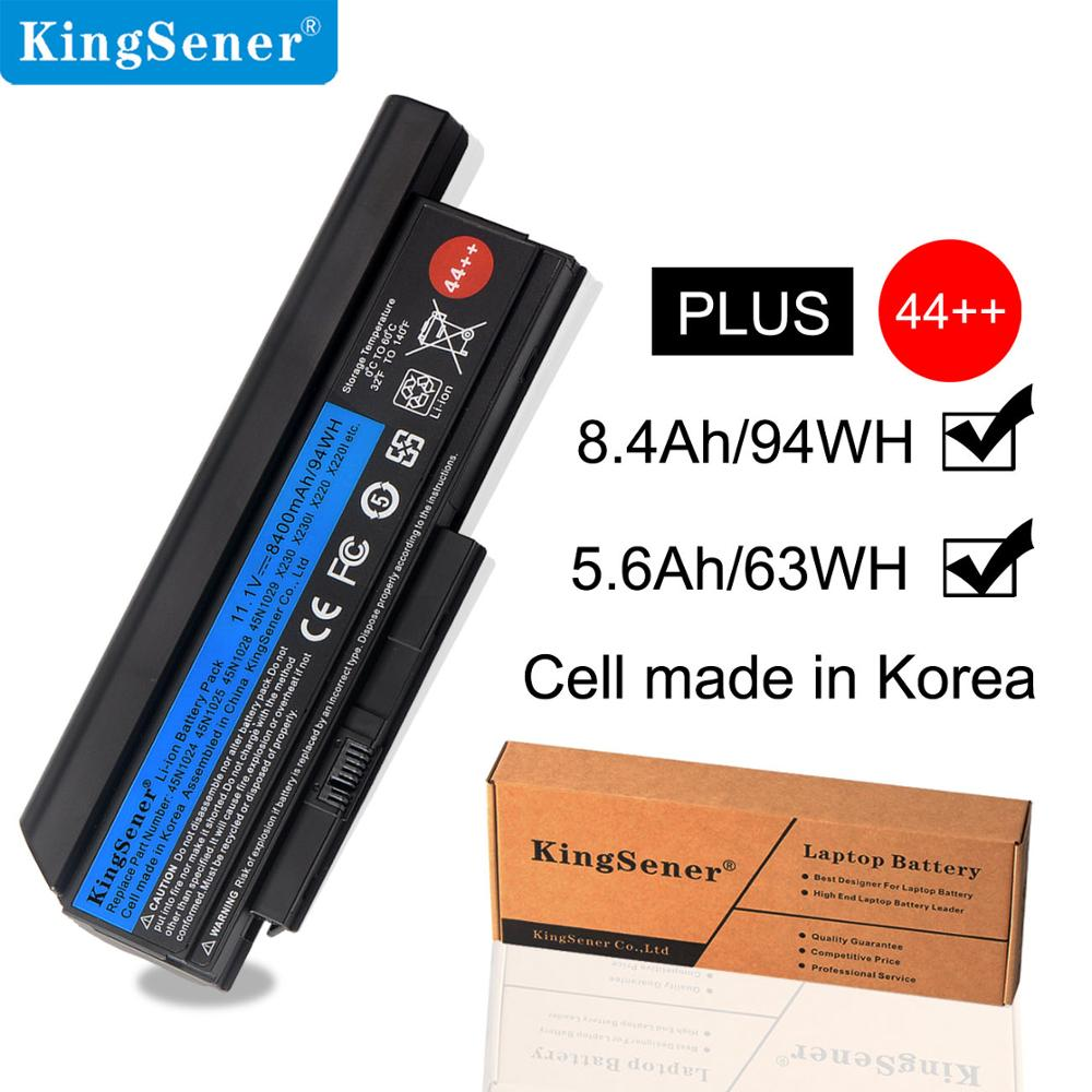 KingSener Laptop Battery For Lenovo Thinkpad X230 X230I X230S 45N1029 45N1028 45N1025 45N1024 45N1172 8.4Ah/94WH 9 Cells 44++
