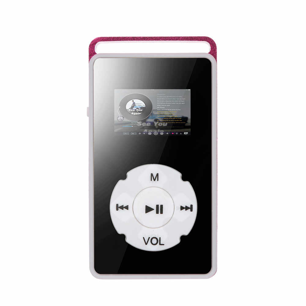 HIPERDEAL USB Digital MP4 Player LCD Screen Support Micro SD TF Card 32G Mirror Music Media Fashion Music Player Apr16
