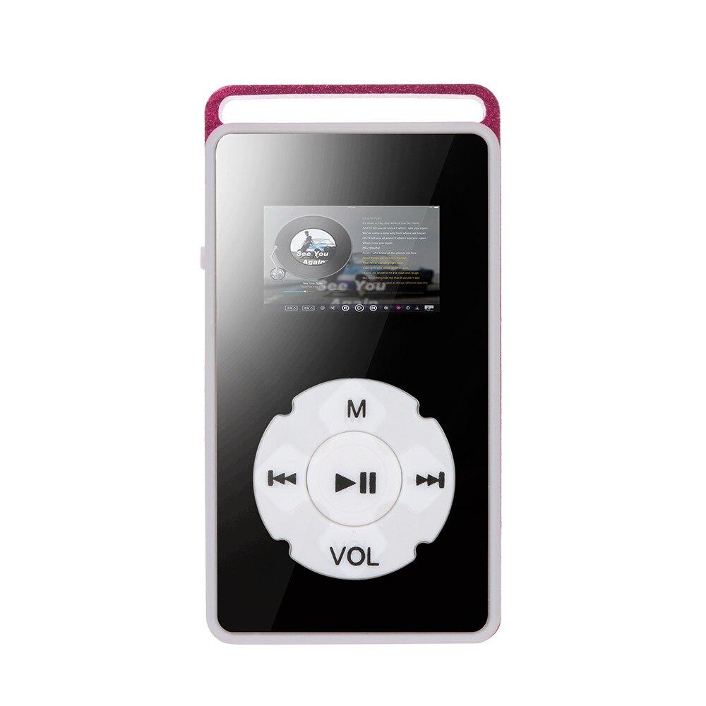 Hiperdeal Usb Digital Mp4 Player Lcd Bildschirm Unterstützung Micro Sd Tf Karte 32g Spiegel Musik Medien Mode Musik-player Apr16 Von Der Konsumierenden öFfentlichkeit Hoch Gelobt Und GeschäTzt Zu Werden Tragbares Audio & Video Unterhaltungselektronik