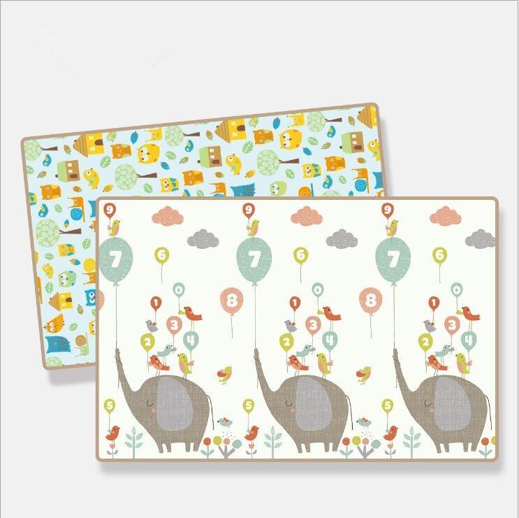 Tapis de jeu rampant pour bébé épaissir la Protection de l'environnement tapis de mousse pour enfants couverture de jeu humidité XPE bébé tapis d'escalade cadeaux - 6