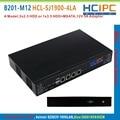 HCiPC B201-M12 HCL-SJ1900-4LA, BayTrail 82583V 4LAN Mini Firewall Barebone,4LAN Mini Router,Mini PC,4LAN Motherboard