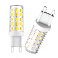 5Pcs Flicker Free 3 W G9 LED Bulb Warm White 60 x 4014 AC 100 240V SMD LED Light Bulb JA55