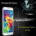 0.3mm vidrio templado de cine para samsung galaxy s5 s6 s6 templado protector de pantalla de cristal para s5 s6