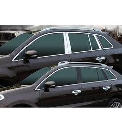 Lsrtw2017 in acciaio inox finestra di automobile della decorazione trim per renault koleos 2009 2010 2011 2012 2013 2014 2015 2016 samsung qm5