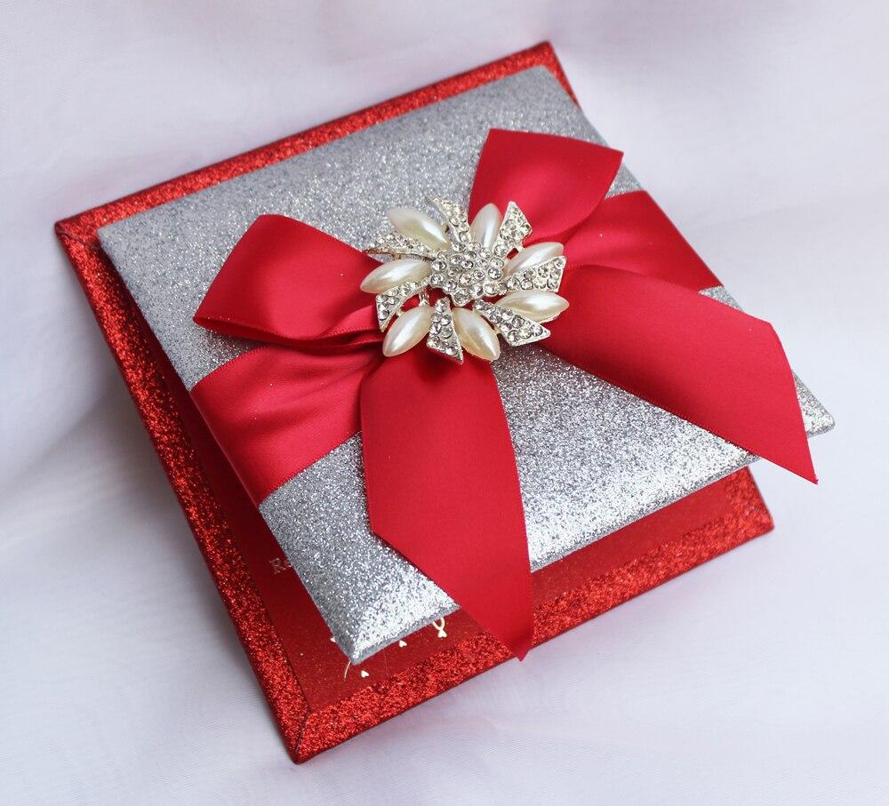 Aliexpress.com : Buy HI1108 Luxury Customized Glitter Wedding ...