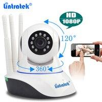 Lintratek CCTV Security Wireless Camera HD 1080P Wifi IP Camera Baby Monitor Pan Tilt IR Night
