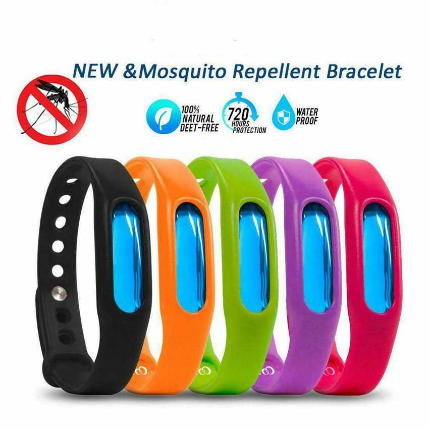 TTLIFE ป้องกันยุงแมลงสร้อยข้อมือธรรมชาติกันน้ำเกลียวสายรัดข้อมือในครัวเรือน Merchandise สีสุ่ม