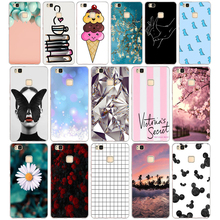10 For Cover Huawei P9 Lite Case Cute Animal Silicon Soft TPU for Funda 2016 P9Lite Phone Back Cases