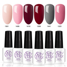 Sexy mix 126 Color UV Gel Nail Polish Soak off Nail Art Nude Color Painting Gel