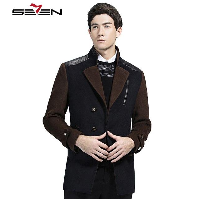 Aliexpress.com : Buy Seven7 Hot Sale Woolen Coat Men Winter Plus ...