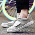 2016 Suede Leather Mens Fashion Casual Sport Shoes Spring Autumn Breathable Lace-up Man Flats Sneakers Shoes Wholesale 4 Colors