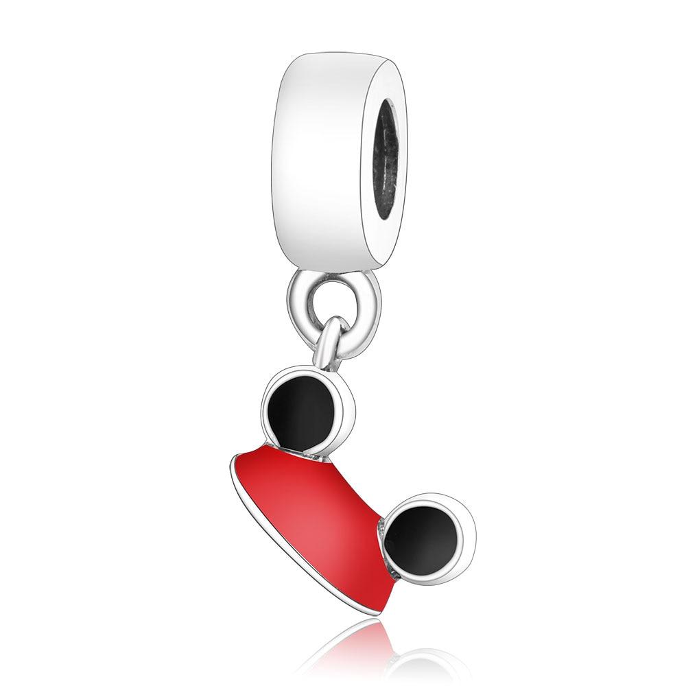 Подходит для оригинальных браслетов Pandora DIY Ювелирные изделия Осенняя коллекция ромашки ажурные шармы 925 пробы серебряные бусины в виде цветка - Цвет: A33