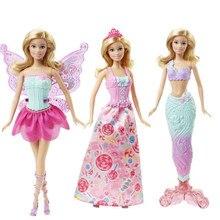 2f28035daf594 Barbie Originale Bébé 18 pouces Poupée Jouet Princesse robe fourreau Up  Fête D anniversaire Présent jouets pour enfants pour Fil.