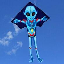 140*95 см Забавный Чужой кайт Большой легко летать кайт с строку и ручка игрушки для детей и взрослых одежда высшего качества