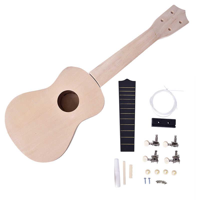 21 بوصة بسيطة وممتعة لتقوم بها بنفسك القيثارة لتقوم بها بنفسك عدة أداة هاواي الغيتار اليدوى الأطفال لعبة التجمع للهواة الساخن
