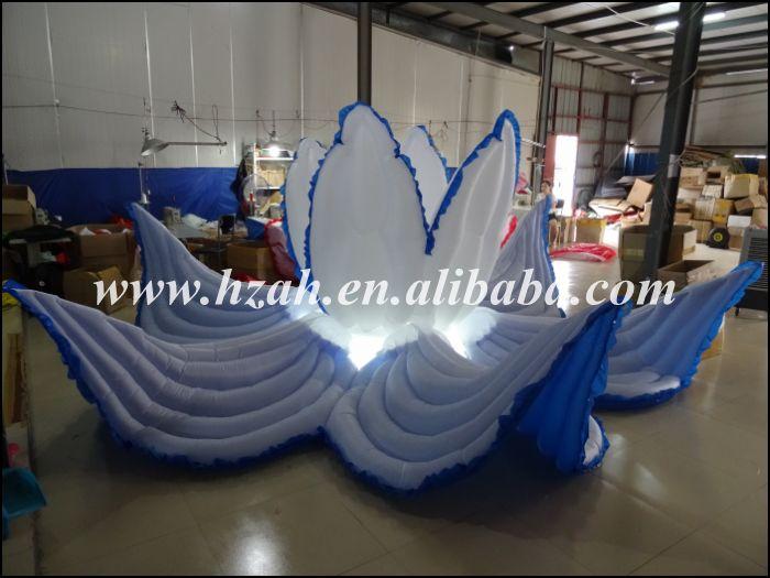 Düğün Dekorasyon için LED Işık ile Mavi Şişme - Mobilya - Fotoğraf 3