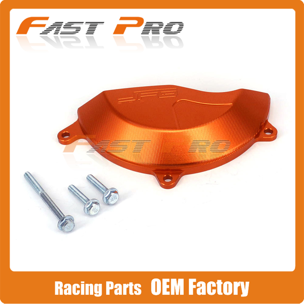 CNC Right Side Engine Case Cover Protector Guard For KTM SX-F450 SXF450 2013-2015 EXC-F450 EXC-F500 2012-2015 13 14 Motorcycle silencer exhaust protector can cover for ktm exc f exc sx f 450 sx f 350