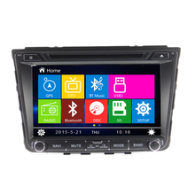 2 Din Car DVD For hyundai ix25 with GPS Navigation Bluetooth Radio USB SD Canbus Gps Digital touch screen Steering Wheel Control