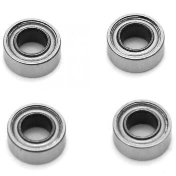 4Pcs SMR63ZZ Stainless Steel Single Row Ball Bearing Thickness Deep Groove miniature bearing rodamientos 3x6x2.5mm