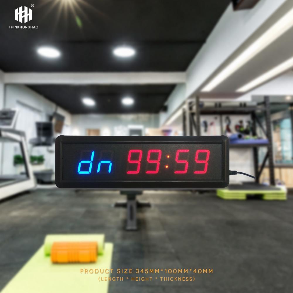 liela izmēra, funkcionāls, fitnesa taimera pulkstenis 1,8 collu - Mājas dekors - Foto 6