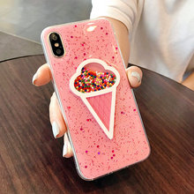 Pink Icecream Phone Case iPhone 6 6s Plus 7 8 PLUS X