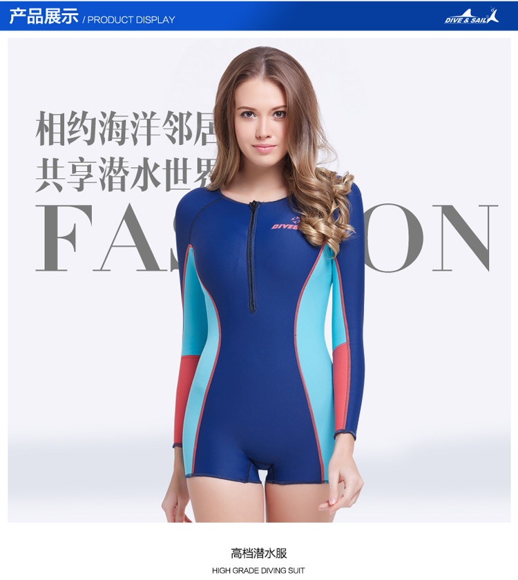 ФОТО Free shipping 1.5MM knee style Diving suit Swimsuit Swimwear Wetsuits Dive Surfing Wetsuit autumn -winter