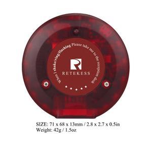 Image 3 - 10 шт. пейджеры Coaster ресторанная Беспроводная система вызова официант 999 канал 433,92 МГц система очереди F3357A