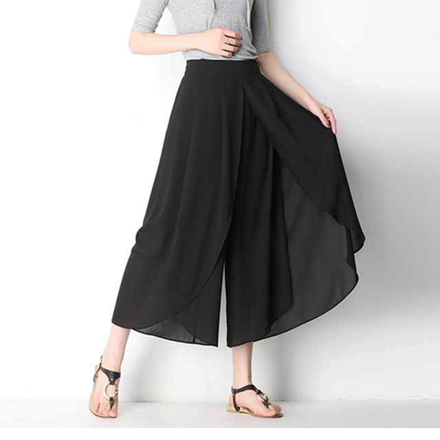 Women's Clothing Summer Palazzo Trousers