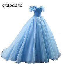 2021 fora do ombro azul quinceanera vestidos organza vestido de baile longo vestido de baile vestidos de 15 anos