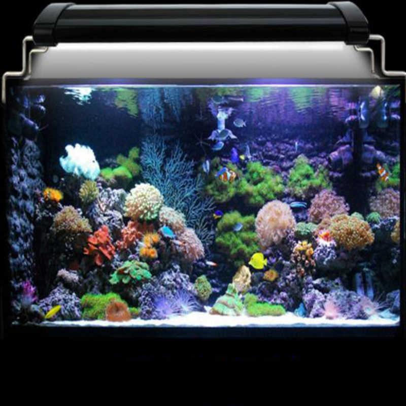 Высокий люмен Аква цветной яркий морской светильник 33/45 светодиодный раздвижная подставка соленая вода 30 см/40 см многоцветный полный спектр