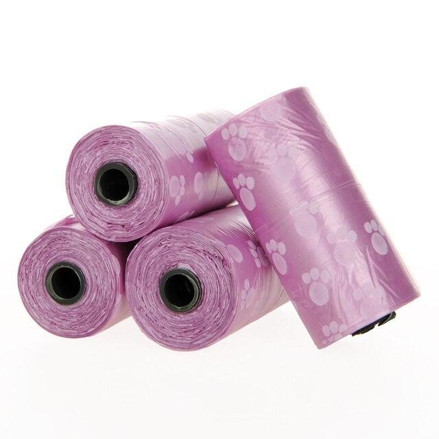 Purple Puppy Poop Scoop Bags   4
