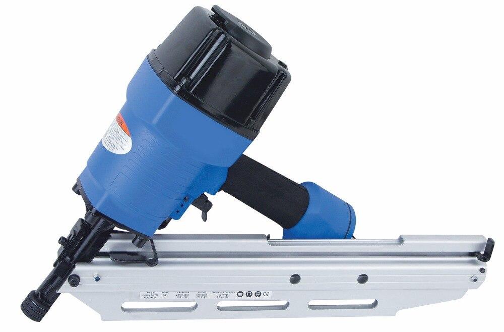 SAT1601 Industrielle Luftspule Nail Gun Dach Pneumatische Clipped ...