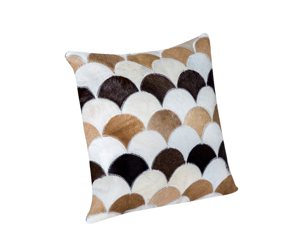 cowhide pillow24