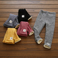 Girld леггинсы зимой 2016 Детей брюки теплые девушки меховые брюки для новорожденных девочек брюки дети зимние брюки