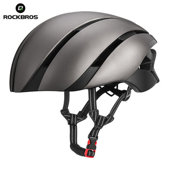 ROCKBROS Ultralight Bike Helmet Men Women 57-62 CM Cycling EPS Integrally-molded Helmet Reflective MTB Bicycle Safety Hat