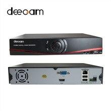 Deecam H.264 Видеорегистратор 4 Канал 8 Канал IP Комплект NVR 4ch Безопасности камера Full HD 1080 P 4CH 8CH NVR 4CH POE NVR КОМПЛЕКТ ВИДЕОНАБЛЮДЕНИЯ-