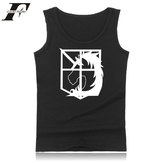 Attack On Titans Tank Top (16 Models)