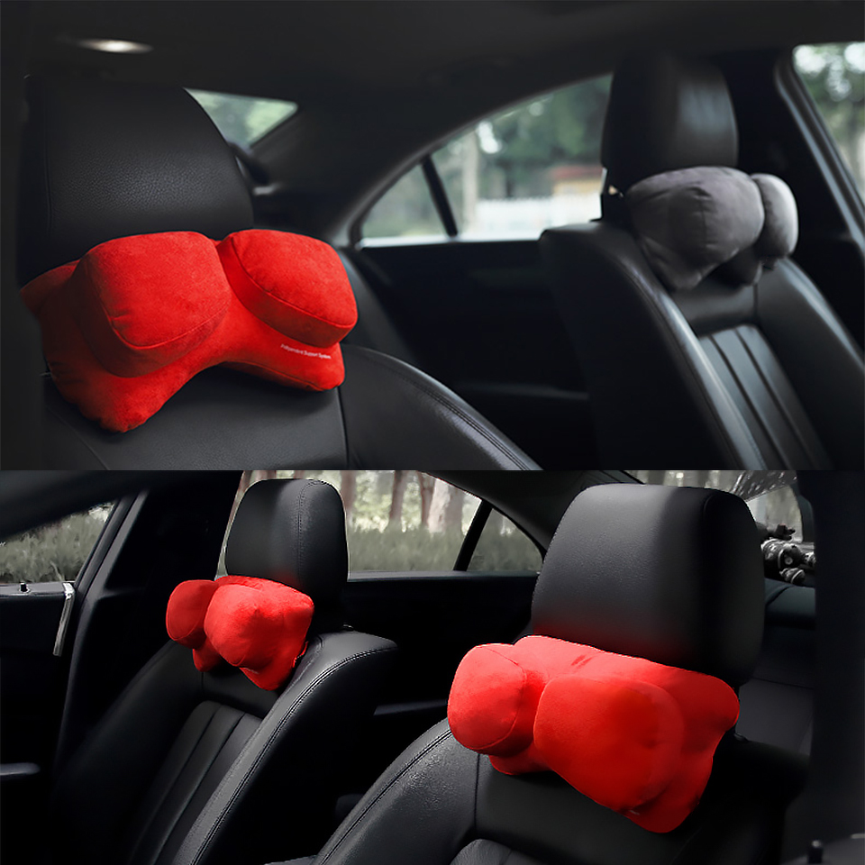 Chuky Car Seat Massage Pillow Pad Comfortable Head Neck Rest Cushion For Bmw E36 F30 F10 E30 M X5 Ssangyong Volvo Xc90 V70 Xc60 Back To Search Resultsautomobiles & Motorcycles Interior Accessories