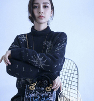 Autumn Winter American And European Celebrity Fashion High Neck Sweater Women Good Quality Sweater