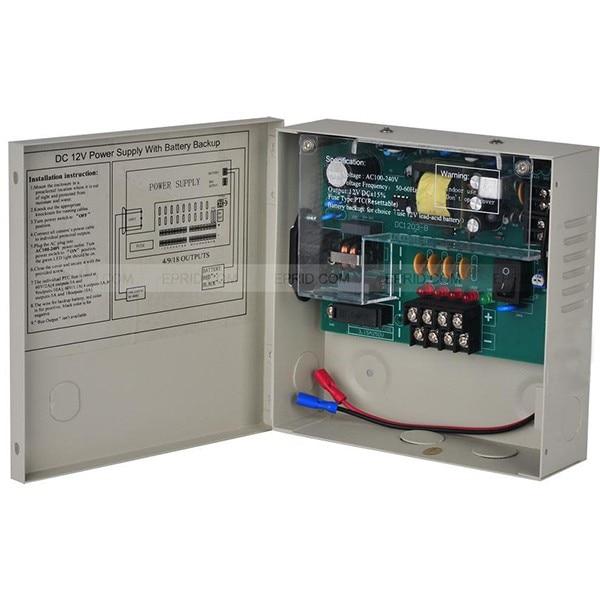 2PCS UPS Power Supply DC12V 3A 4 Channel Backup For CCTV Camera System autoeye cctv camera power adapter dc12v 1a 2a 3a 5a ahd camera power supply eu us uk au plug
