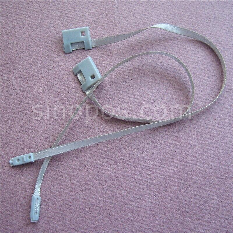 Clothing Hang Tag Ribbon String Seal, loop lock cord fastener snap ...
