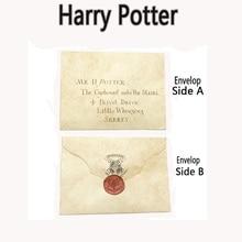 Harry Potter Admission Letter+Ticket Of Hogwarts